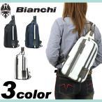 ショッピングビアンキ Bianchi(ビアンキ) LBLY ボディバッグ 斜め掛けバッグ ワンショルダーバッグ A5 LBLY-01 メンズ レディース 男女兼用 送料無料