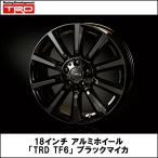 18インチアルミホイール「TRD TF6」(ブラックマイカ) トヨタ C-HR TRD