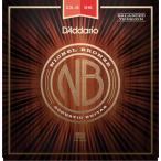 【ネコポス可】【WEB特価】D'Addario NB13556BT Nickel Bronze Set, Balanced Tension Medium, 13.5-56【G-CLUB渋谷】