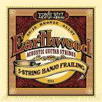 ERNIE BALL #2061 Earthwood 5-String Banjo Frailing Loop End 80/20 Bronze Acoustic Guitar Strings(バンジョー弦)(ネコポス)【ONLINE STORE】