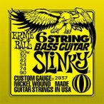 ERNIE BALL #2837 Slinky 6-String w/ small ball end 29 5/8 scale Bass Guitar Strings(ベース弦)(ネコポス)【ONLINE STORE】