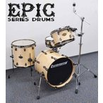 Ludwig EPIC Jazz Kit LCEP18J3NB 本体 4pc セット ドラムセット (送料無料)