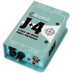 Radial J+4 アンバランス-10dB to バランス+4dB ステレオ・コンバーター(送料無料)