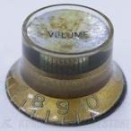 SCUD KG-130VS/R ハットノブ (プッシュマウント) ボリューム、ミリサイズ カラー:ゴールド/シルバーキャップ、レリック仕様