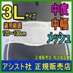 コルセット 腰痛ベルト プロフィット・メッシュ プラスチックステイ  3L アシスト  骨盤矯正ベルト 骨盤ベルト 大きいサイズ 日本製 腰痛 腰痛コルセット