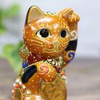 招き猫 置物 風水 踊るほど福を招く!九谷焼 踊る招き猫