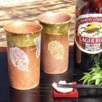 結婚祝いプレゼント 泡まで旨い 陶器 ペア ビールグラス