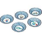 和食器 九谷焼 小皿5枚セット 野菜文