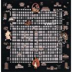 風呂敷 地図 綿小ふろしき(50cm) 京都 洛中洛外図