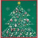 風呂敷 彩時記 綿小ふろしき クリスマス