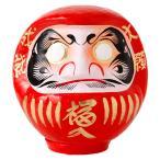 高崎だるま 縁起だるま 5号(高さ20cm)赤 群馬県指定ふるさと伝統工芸品 Takasaki daruma engi daruma Gunmaken traditional crafts