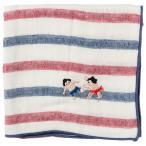 相撲ハンカチ 張り手 カランコロン京都《にっぽん CHA CHA CHA》 Handkerchief of sumo pattern