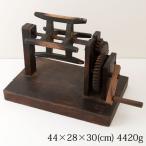 木製糸巻き機 アンティーク置物・インテリア Wooden peg machine
