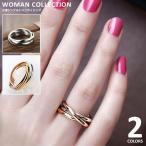ショッピング指輪 指輪 レディース ゴールド リング ピンクゴールド クロス シルバー 3色  メール便送料無料