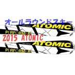 アトミックスキー ATOMIC PERFORMER FIBER+XTE10 専用ビンディングセット