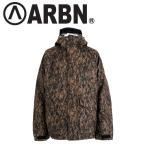 ARBN アーバン ABPRINT JACKET スノボ ジャケット ウェア スノーボード メンズ UAQ404/28ブラウニー