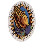 ステッカーNo,1162 PRAYING HAND ビッグサイズ/MARCO ALMERA(マーコ・アルメイラ)