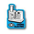 CHUNS ELECTRIC ステッカー CE007 #CEFP