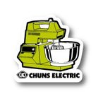 CHUNS ELECTRIC ステッカー CE008 #CEMX