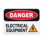 SECURITYステッカー MD017 Danger_electrical