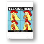ミニポス(B5サイズミニポスター)POS-067/Talking Hens/ロックシリーズ