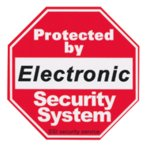 SECURITYステッカー SQ001 Electronic