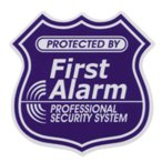 SECURITYステッカー SQ004 First alarm