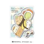 すみっコぐらし お寿司 キャラクターステッカー イラスト すみっコ 人気 可愛い ライセンス商品 SU72 gs 公式グッズ