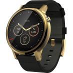 Moto 360 2nd Gen 2015 スマートウォッチ 腕時計 ブラックレザーバンド 並行輸入品