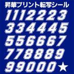 【郵便送料無料】オリジナル昇華プリント転写シール アイロン用012 (数字セット)maskprint-012