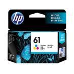 【送料無料】 HP 61 インクカートリッジ カラー CH562WA