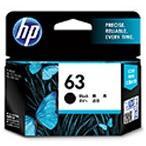 HP 63 インクカートリッジ 黒 F6U62AA