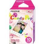 【受注品】富士フイルム  チェキ用カラーフィルム instax mini キャンディポップ 1パック品(10枚入) INSTAX MINI CANDYPOP WW 1