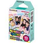 【送料無料】富士フイルム  チェキ用カラーフィルム instax mini ステンドグラス 1パック品(10枚入) INSTAX MINI STAINED GLASS 1