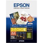 エプソン スーパーファイン紙 A4 250枚 KA4250SFR