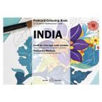 PEPIN カラーリングブック ぬりえ ポストカード インディア CB-PC-007