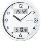 ノア精密 MAG 掛時計 ダブルメジャー ホワイト W-631 WH