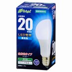 オーム電機 LED電球 一般電球形 E26 20W相当 昼光色 全方向タイプ 密閉器具対応 LDA2D-G AG22