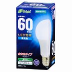 オーム電機 LED電球 一般電球形 E26 60W相当 昼光色 全方向タイプ 密閉器具対応 LDA7D-G AG22