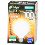 オーム電機 LEDボール球 密閉器具対応 全方向タイプ E26 10.4W 電球色 LDG10L-G AG22