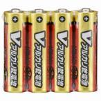 オーム電機 単3形 Vアルカリ乾電池 4本入 LR6/S4P/V