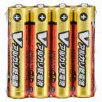 オーム電機 単4形 Vアルカリ乾電池 4本入 LR03/S4P/V