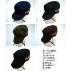 ワークキャップ サイドレザー デニム 男女兼用 5色 HARD MAN JAPAN(men'sキャップ、men'sハット、men'帽子)