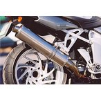 ササキスポーツクラブ チタン・フルエキゾーストマフラー タイプR フルエキゾーストマフラー BMW K1200S 124ED