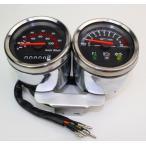 MINIMOTO ミニモト 2連タコ&スピードメーターミニバイク向け HONDA DAX ダックス