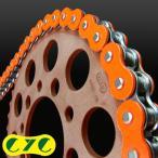 CYCチェーン 530-120L カラーシールチェーンソリッドカラー(蛍光オレンジ) HONDA CBF1000