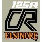 ホーリーエクイップ HollyEquip 1979 Honda CR125R Elsinoreサイドパネルデカール(PR) ステッカー・デカール その他