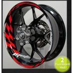 MOTOINKZ モトインクズ GPレーシングホイールストライプ・リムステッカー1(GP Racing Wheel Stripes design 1) ステッカー・デカール その他