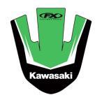 FACTORY EFFEX ファクトリーFX KAWASAKI フロントフェンダーデカール KAWASAKI KX80/II