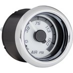 DAKOTA DIGITAL ダコタデジタル 気圧計  ホワイト/グレークローム GAUGE AIR PSI WHT/GRY CHR 2212-0518